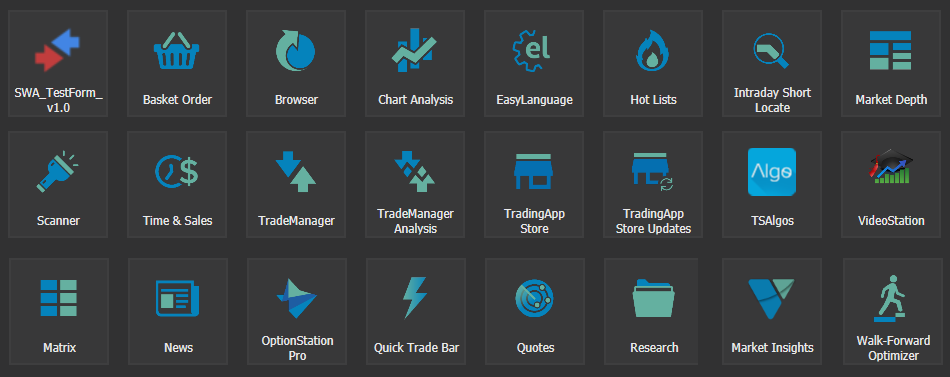 TradeStation Apps